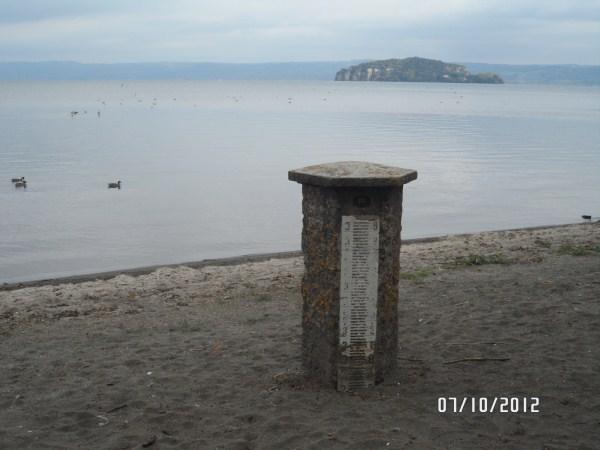 Misuratore livello del lago di Bolsena